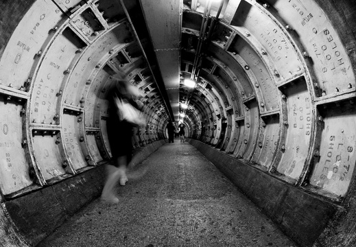 Greenwich Foot Tunnel 04 August 2008