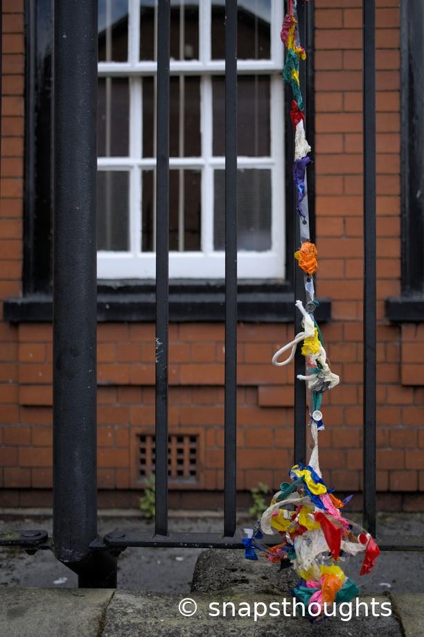 Alexander Park School forlorn balloons